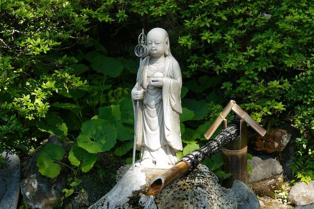 Nakano Fudouson Togenuki Jizo statue