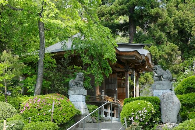 Nakano Fudouson Kitoden prayer hall